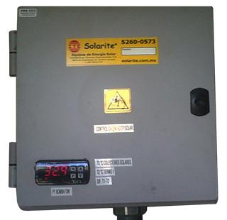 Unidad de control solar digital Solarite.