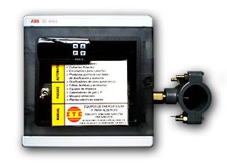 Unidad de control solar digital solarite N321S.