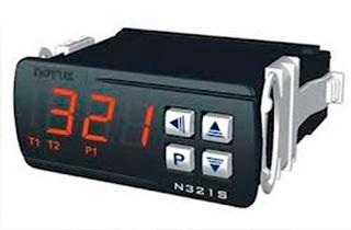 Control solar N321S.